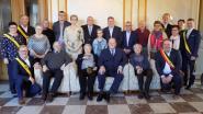 Ere-schepen Arsène Acke viert gouden huwelijksverjaardag