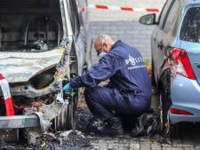 Bestelbus brandt uit in Stadspolders, politie gaat uit van brandstichting