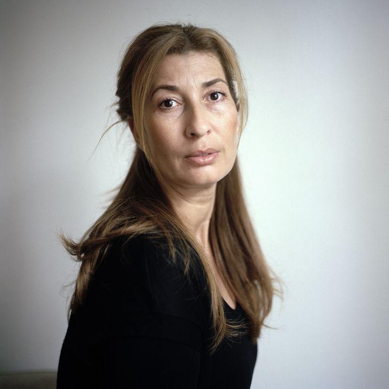 Samira Bouchibti is schrijfster en adviseur integratie & inclusie. Beeld Joost van den Broek