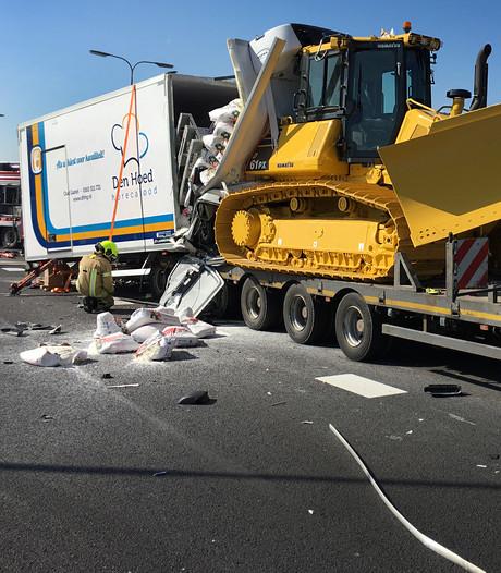 Trucker (20) komt om het leven bij ongeval op Hellegatsplein