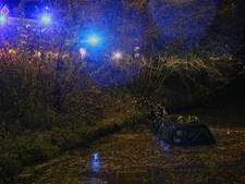 Bestuurder van te water geraakte auto in Uden is 'spoorloos verdwenen'