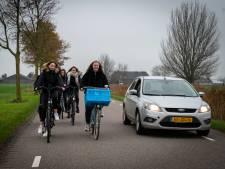 Auto op fietsroute Overbetuwe moet zeldzamer worden