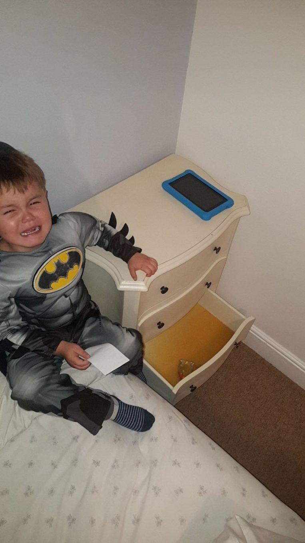 Batman heeft iets op zijn kerfstok