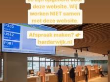 Harderwijk waarschuwt voor onnodige site afspraakloket.nl
