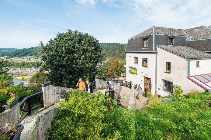 L'auberge de Bouillon, en province du Luxembourg.