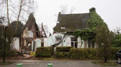 Monument 'Teutenhuis Linmans' ingestort