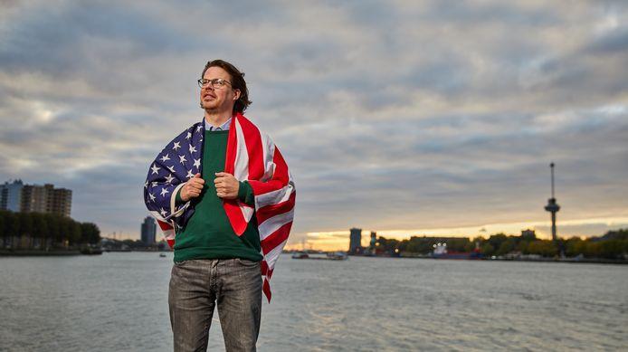 Floris Schreuder: ,,Op televisie zie je vaak het moderne, rijke Amerika. Maar het is niet alléén rozengeur en maneschijn.''