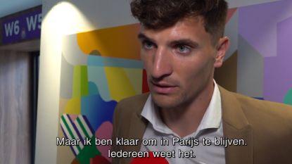 """Thomas Meunier: """"Ik wil bij PSG blijven"""""""