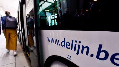 Ongeval met Lijnbus, maar weinig schade