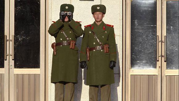 De luidsprekers zijn een doorn in het oog van Noord-Korea dat dreigt met een aanval.