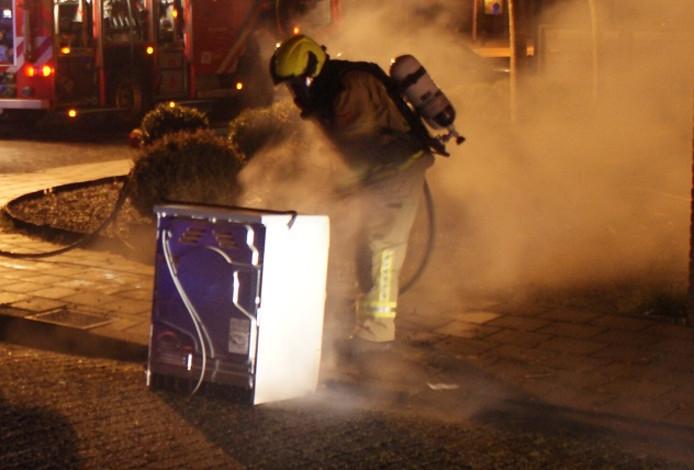 Een wasdroger was de oorzaak van de brand.