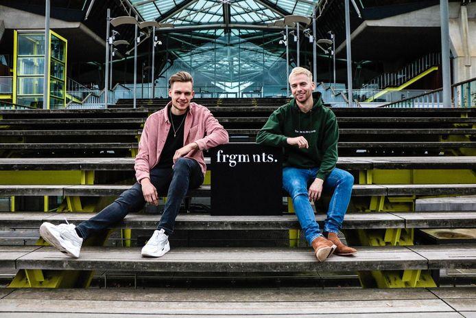 Michael Bergé en Maxime Schellekens starten met een webshop voor mannenkleding.