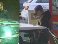 Politie deelt foto's van autodieven die vier auto's meenamen bij garagebedrijf in Leerdam