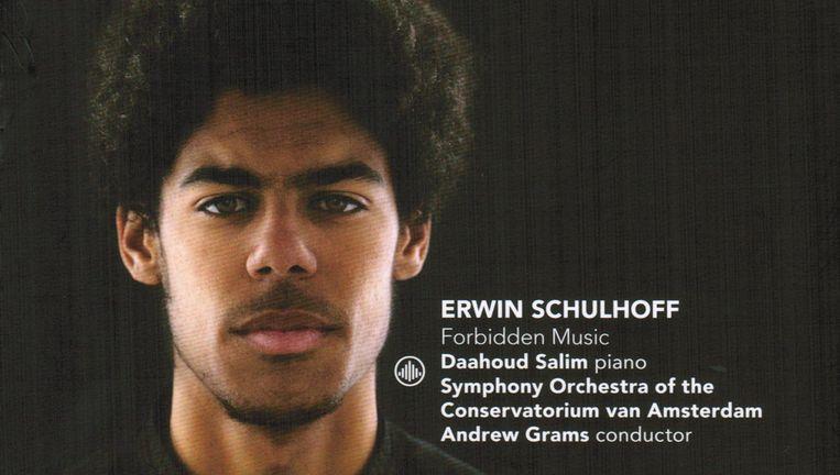 Pianist Daahoud Salim. Beeld