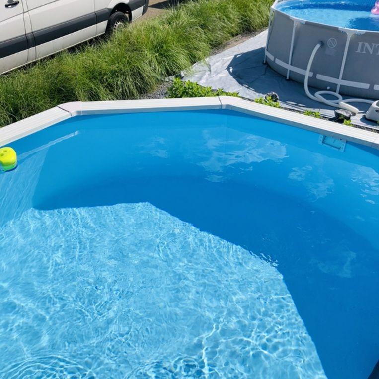 Showtuin van de zwembadenwebshop.nl. Beeld