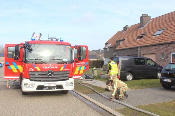 Brandweerzone Oost Brabant en de collega's van Zuid West Limburg snelden ter plaatse