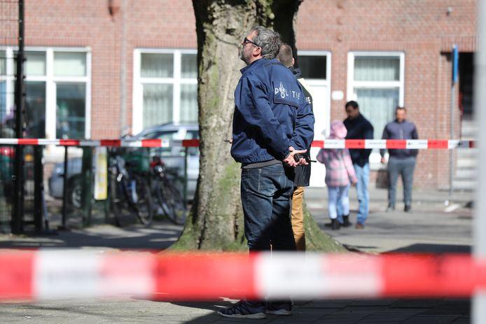 Politie inzet Kaapseplein.