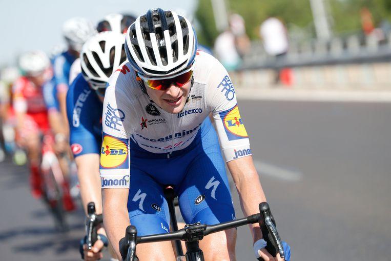 Pieter Serry in actie in de Tour de San Juan in Argentinië.