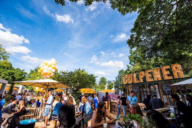 Het wordt een drukke boel tijdens de tiende editie van Taste Of Amsterdam Beeld Taste Of Amsterdam