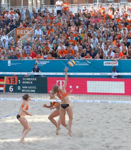 Van Gestel/Wesselink uitgeschakeld op EK beachvolleybal