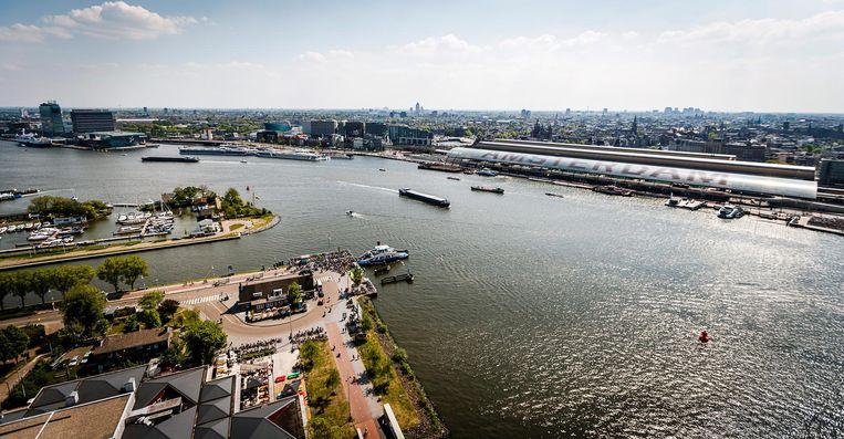 De Amsterdamse haven Beeld anp