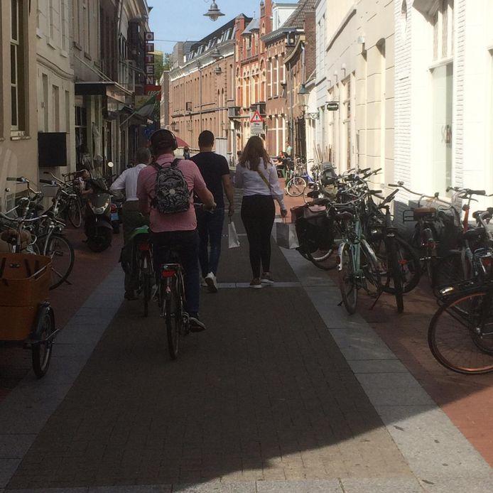 De gemeente pakt fietsen in de Bossche binnenstad aan.