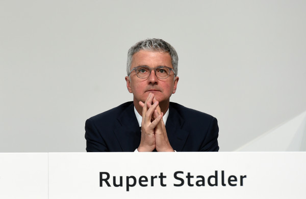 **Audi-topman Rupert Stadler gearresteerd vanwege dieselgate**