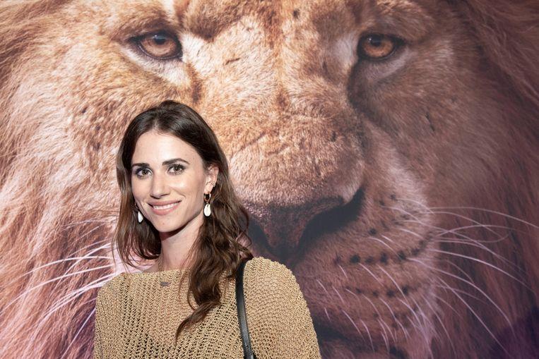 """""""Vroeger heb ik nog 'The Lion King' gespeeld bij de amateurs, dus ik ken alle liedjes uit hoofd"""", aldus model Lize Feryn."""