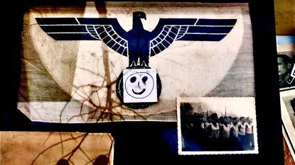 Swastika's bedekt onder een smileysticker: standhouder blijft nazisouvenirs verkopen op Tongerse antiekmarkt
