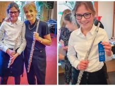Eerste prijs voor dwarsfluitiste Annely Haase uit Rijssen