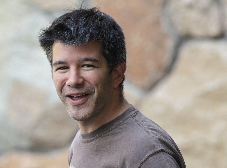 """Uber-ceo Travis Kalanick is van oordeel dat zijn bedrijf in de toekomst """"slimmer en bescheidener"""" wordt."""