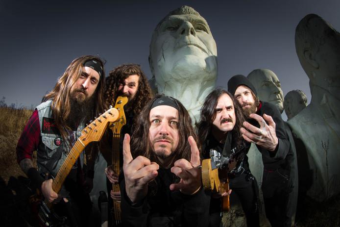 Rockband Iron Reagan is zaterdag een van de bands op Dynamo Metal Fest.