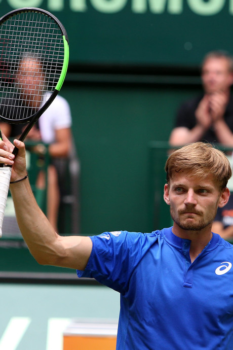 David Goffin se qualifie en trois sets pour les quarts de finale à Halle