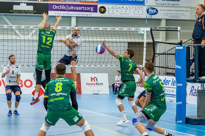 Orion won met 1-3 in Nijmegen. Foto Peter Verheijen