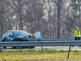 Persoon naar ziekenhuis na ongeluk met meerdere voertuigen op A2 bij Eindhoven