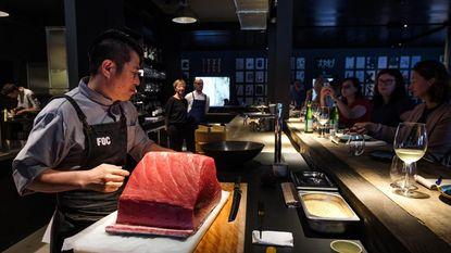 Spaans-Japanse topchef in restaurant K