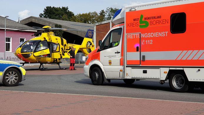 Ongeval in Gronau
