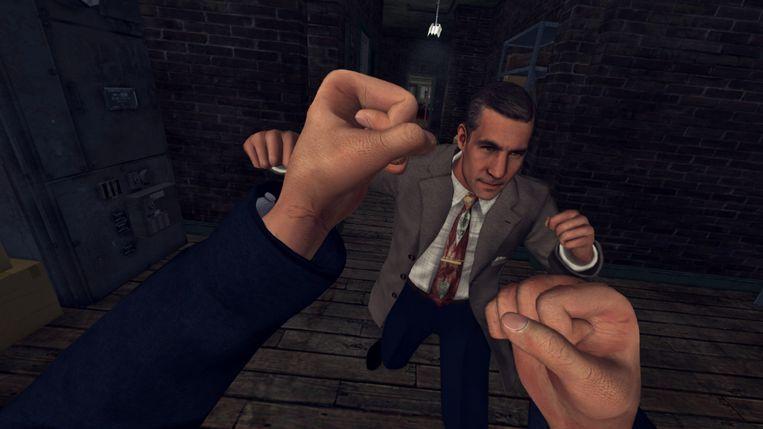 Het betere knokwerk in L.A. Noire