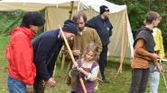 Vikingen, ridders en kruisvaarders palmen historische site Heirweg I in