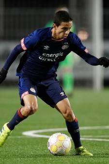 Jong PSV laat kans op hogere klassering liggen