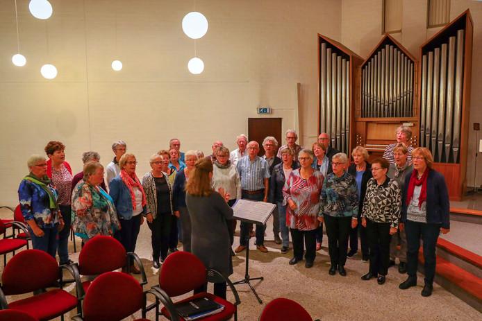 Het Geldropse koor Melodia geeft op zaterdag 26 oktober het jubileumconcert Bel Canto.
