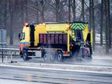 Miljoenen kilo's zout gestrooid in Gelderland en Overijssel