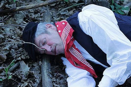 Oorlog 'zat Janneke doodgeschoten'.Tessenderlo27-10-2014Jolien Boeckx