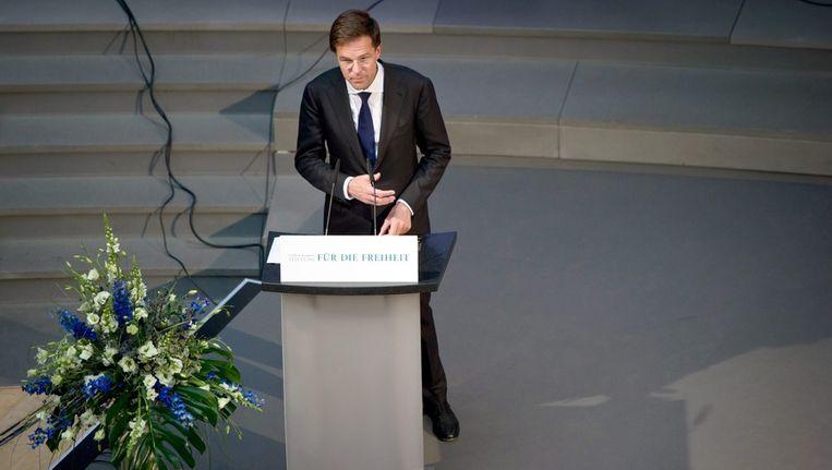 Premier Mark Rutte. Beeld epa