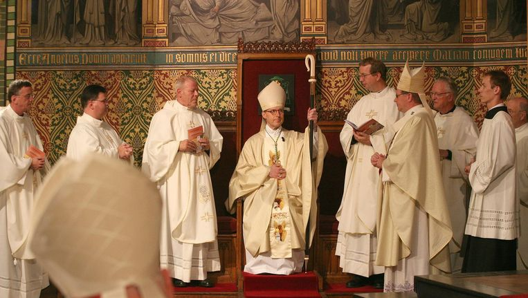 Voormalig Bisschop Gerard de Korte vertrok om Bisschop te worden in Den Bosch. Beeld anp