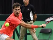 Geblesseerde Haase vervangen door debutant Griekspoor in Davis Cup
