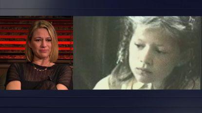 """""""Mijn papa is mijn grote held"""": Hilde De Baerdemaeker emotioneel bij het zien van jeugdvideo in 'Gert Late Night'"""