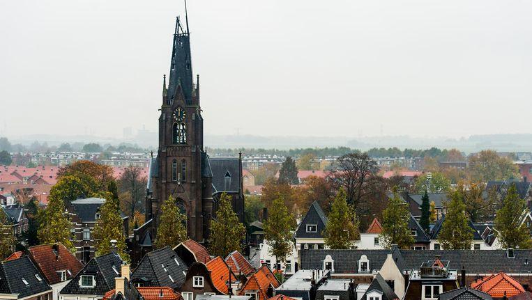Het ziet ernaar uit dat Weesp, mogelijk samen met Driemond, deel gaat uitmaken van Amsterdam-Zuidoost. Beeld Marco de Swart/ANP