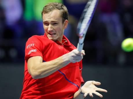 Une 7e finale pour Medvedev, impérial devant son public