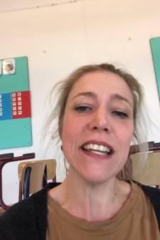 Juf Marleen ontroert kleuters van basisschool in Klein-Zundert met filmpje
